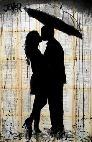 Rain Series No. 2 -  Loui Jover - McGaw Graphics