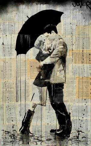 The Black Umbrella -  Loui Jover - McGaw Graphics