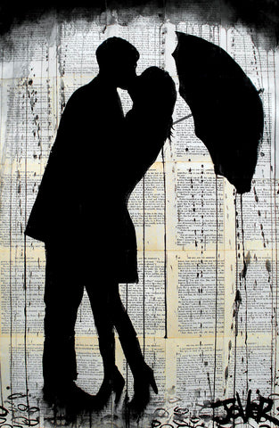 Rainy Day Romantics -  Loui Jover - McGaw Graphics