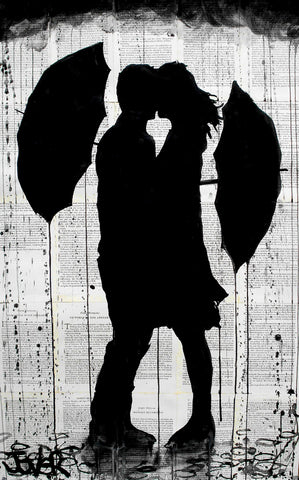 Umbrellas and Love -  Loui Jover - McGaw Graphics