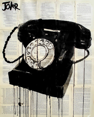 Black Phone -  Loui Jover - McGaw Graphics