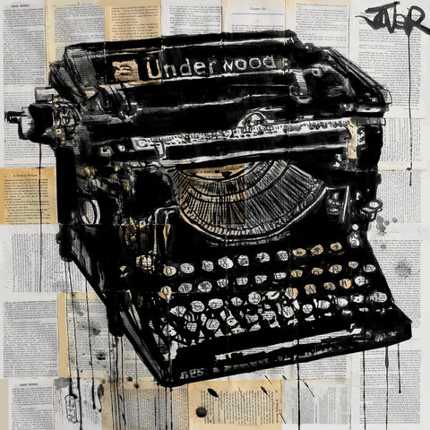 The Underwood -  Loui Jover - McGaw Graphics