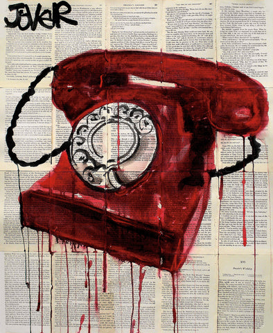 Hotline -  Loui Jover - McGaw Graphics