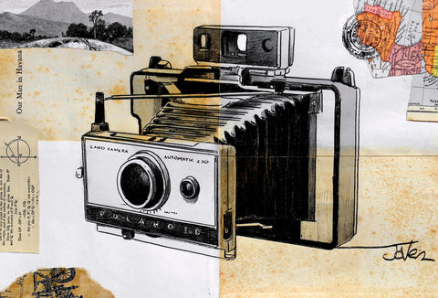 Polaroid Land Camera -  Loui Jover - McGaw Graphics