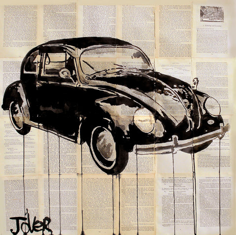 Car -  Loui Jover - McGaw Graphics