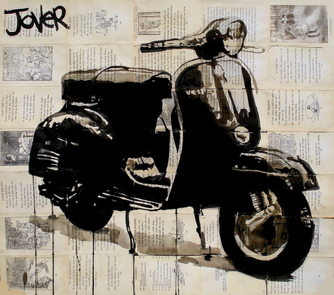 Scooter -  Loui Jover - McGaw Graphics