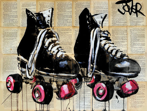 Roll with It -  Loui Jover - McGaw Graphics