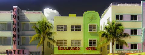 Miami Art Deco II -  Richard James - McGaw Graphics