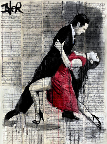 Midnight Tango -  Loui Jover - McGaw Graphics