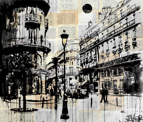 French Quarter -  Loui Jover - McGaw Graphics