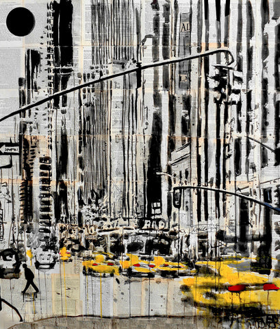 Somewhere in New York City -  Loui Jover - McGaw Graphics