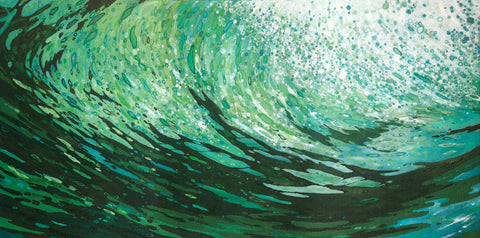 Seaweed on a Wave -  Margaret Juul - McGaw Graphics
