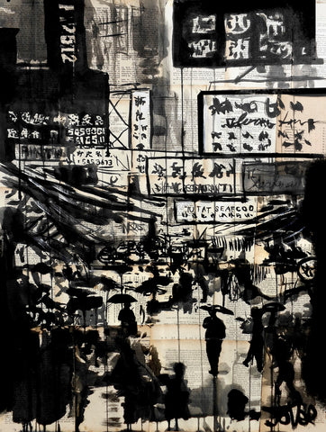 China Town -  Loui Jover - McGaw Graphics