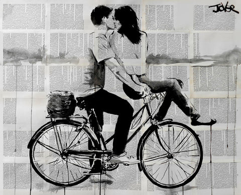 Love Ride -  Loui Jover - McGaw Graphics