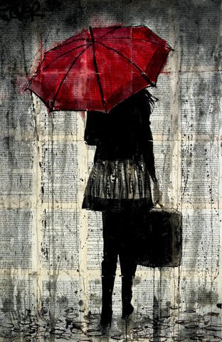 Feels Like Rain -  Loui Jover - McGaw Graphics