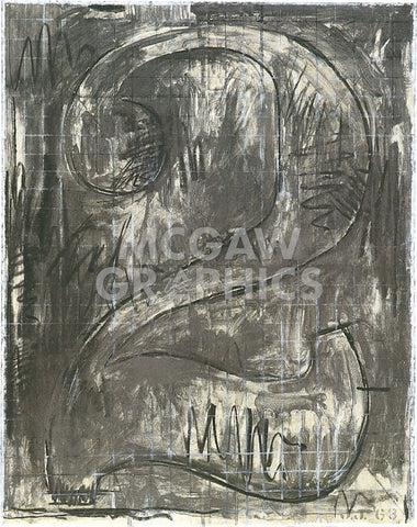 Figure 2, 1963 -  Jasper Johns - McGaw Graphics
