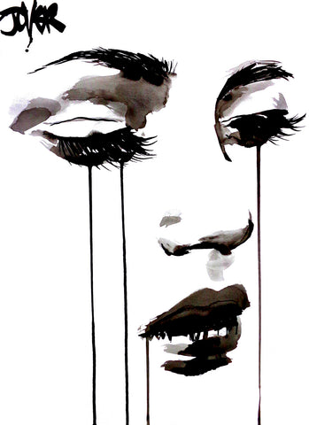 Untitled Face #5 -  Loui Jover - McGaw Graphics