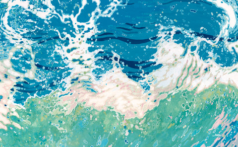 Twisting and Twirling Waves -  Margaret Juul - McGaw Graphics