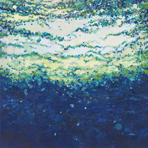 Margaret Juul - Rising Indigo Sea