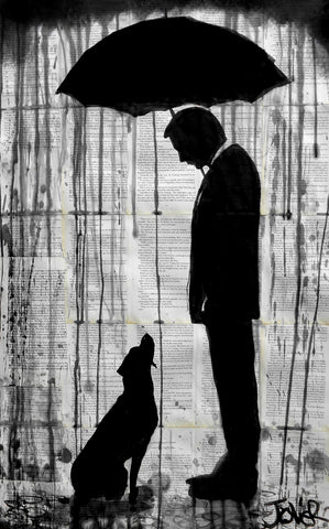 Old Friend -  Loui Jover - McGaw Graphics