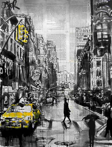 Brooklyn Cab -  Loui Jover - McGaw Graphics