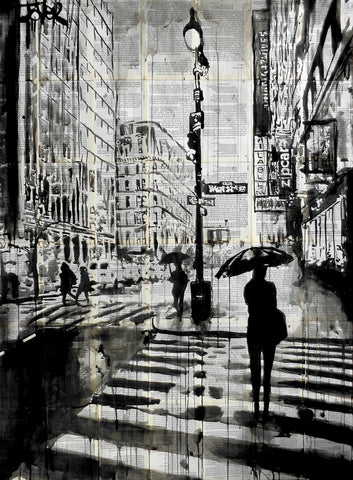 Manhattan Moment -  Loui Jover - McGaw Graphics