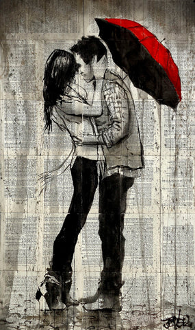 Rainfall and Kisses -  Loui Jover - McGaw Graphics