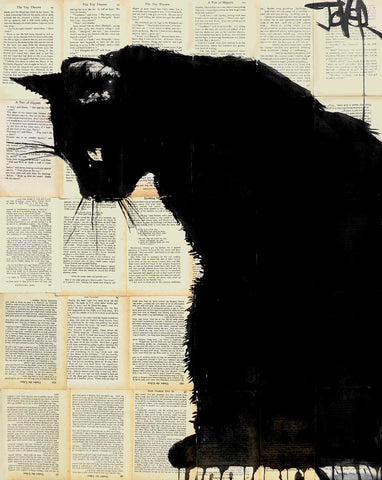 Black Cat -  Loui Jover - McGaw Graphics