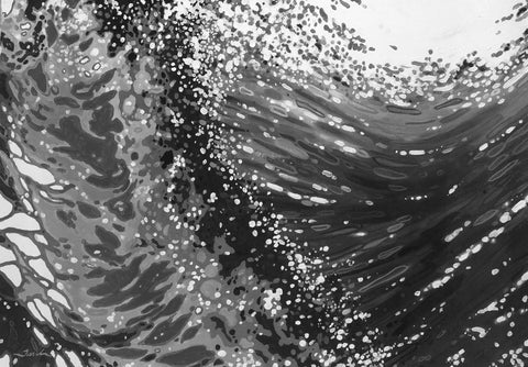 Breaking Waves -  Margaret Juul - McGaw Graphics