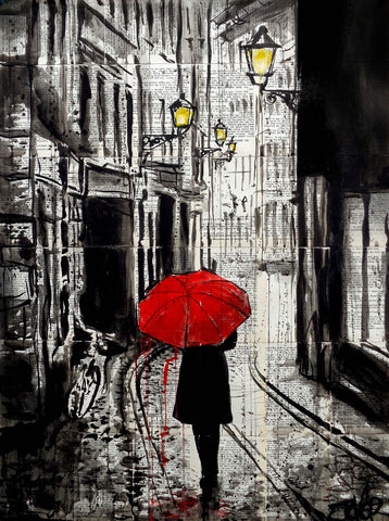 The Delightful Walk -  Loui Jover - McGaw Graphics