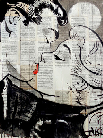 Pop Kiss -  Loui Jover - McGaw Graphics