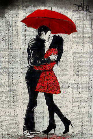 Rain Kisses -  Loui Jover - McGaw Graphics