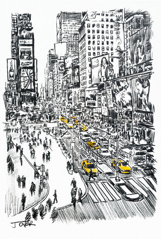 Little Big City Study -  Loui Jover - McGaw Graphics