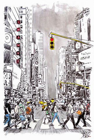 City Move -  Loui Jover - McGaw Graphics