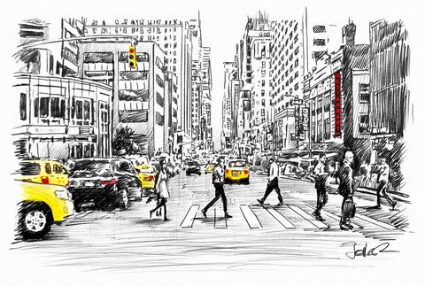 Big Street -  Loui Jover - McGaw Graphics
