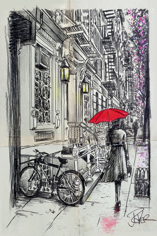 Afternoon Walk -  Loui Jover - McGaw Graphics