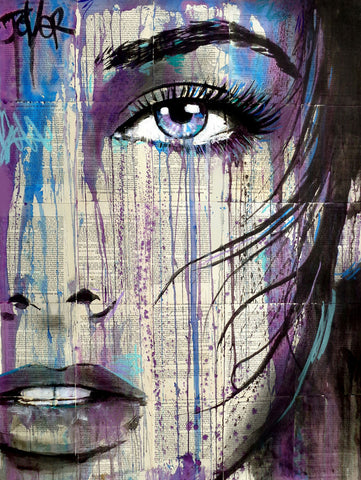 Indigo Feel -  Loui Jover - McGaw Graphics