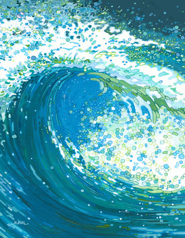 Watch the Wave -  Margaret Juul - McGaw Graphics