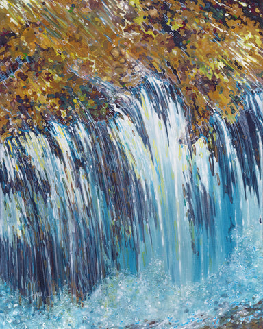Biltmore Waterfall -  Margaret Juul - McGaw Graphics