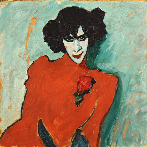 Portrait of the Dancer Aleksandr Sakharov -  Alexej von Jawlensky - McGaw Graphics