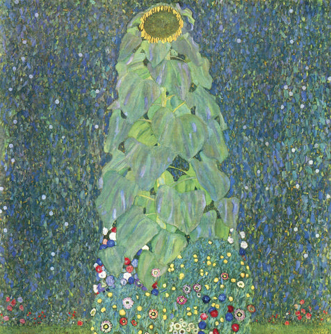 The Sunflower, c. 1906-1907 -  Gustav Klimt - McGaw Graphics