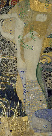 Gustav Klimt - Water Serpents I, ca. 1904-1907