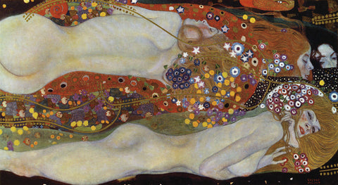 Gustav Klimt - Water Serpents II, 1907