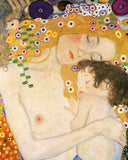 Gustav Klimt - Mother and Child (detail from The Three Ages of Woman), c. 1905