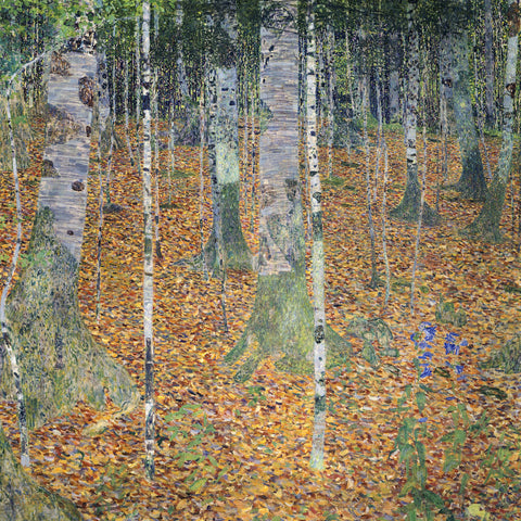 Gustav Klimt - Birch Forest, 1903