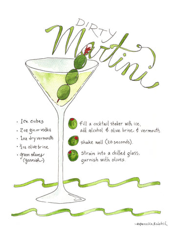 Dirty Martini -  Marcella Kriebel - McGaw Graphics