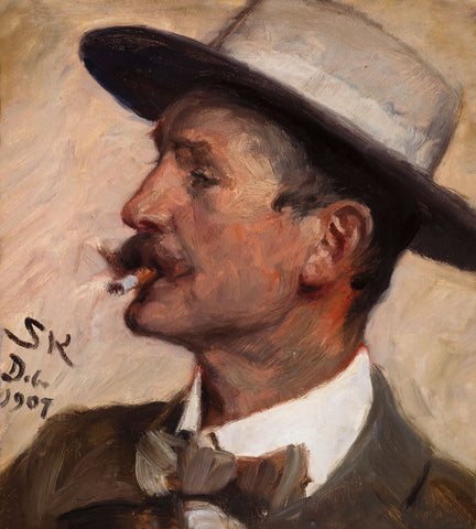 P.S. Kroyer - Hans Gyde Petersen, 1907