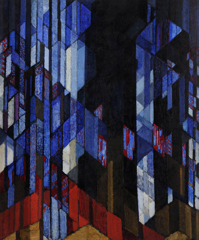 Frantisek Kupka - The Cathedral, 1912-1913