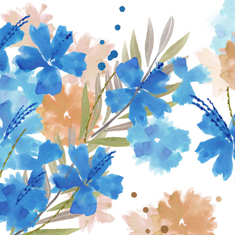 Summer Blues I -  Flora Kouta - McGaw Graphics