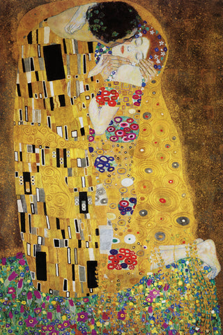 The Kiss -  Gustav Klimt - McGaw Graphics